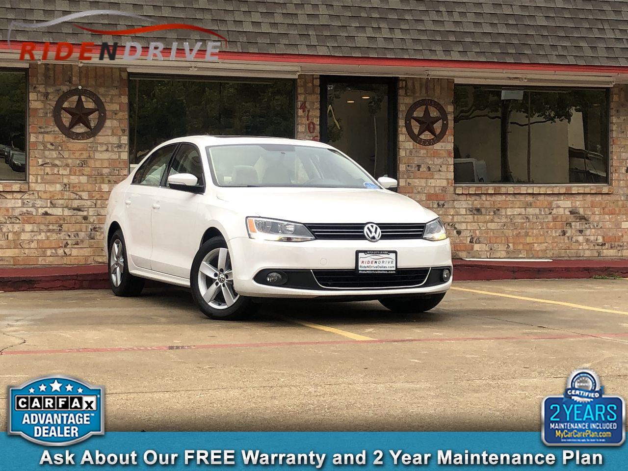 2012 Volkswagen Jetta Sedan 4dr DSG TDI w/Premium & Nav