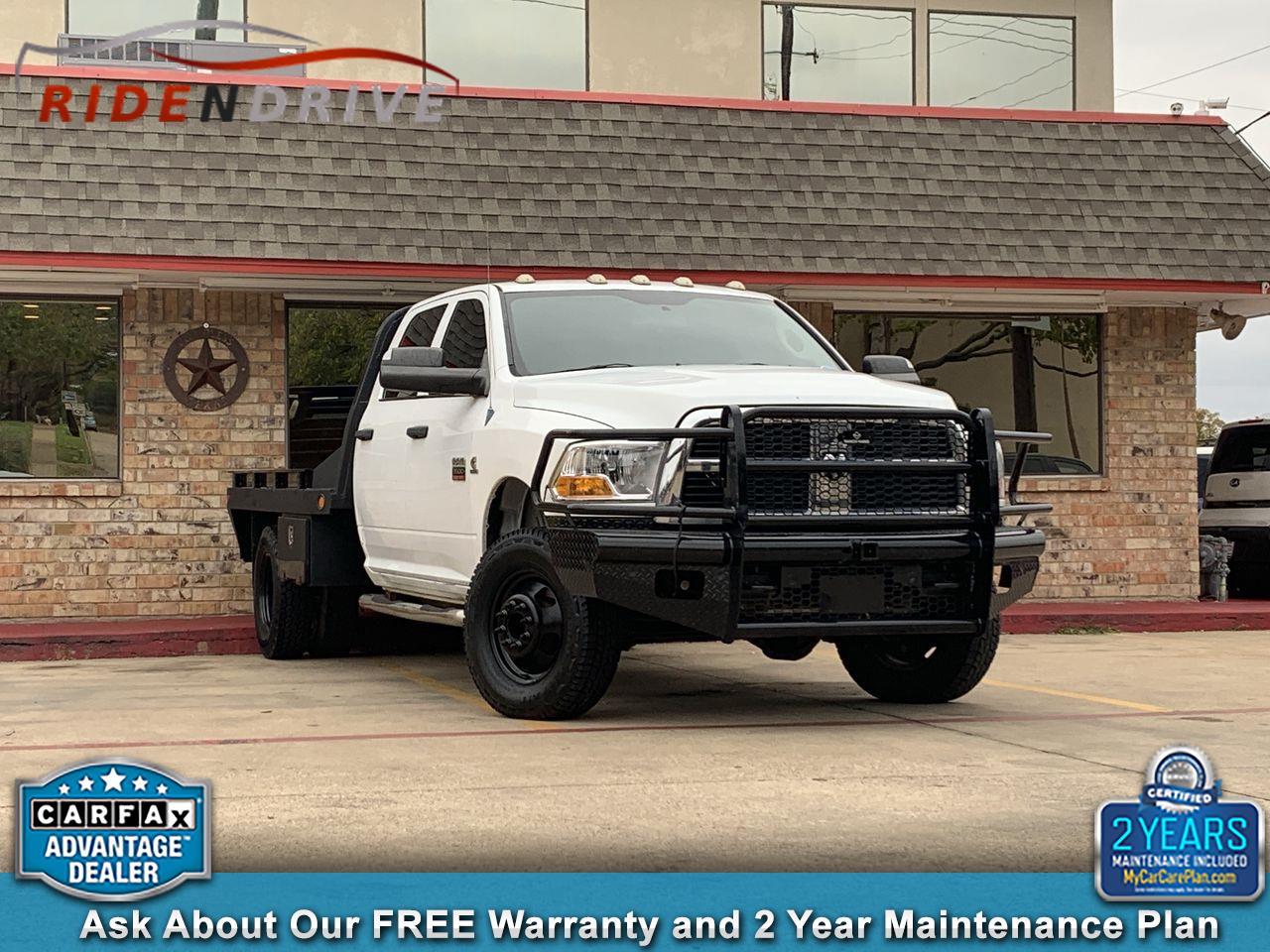 """2012 RAM 3500 4WD Crew Cab 149"""" SLT"""