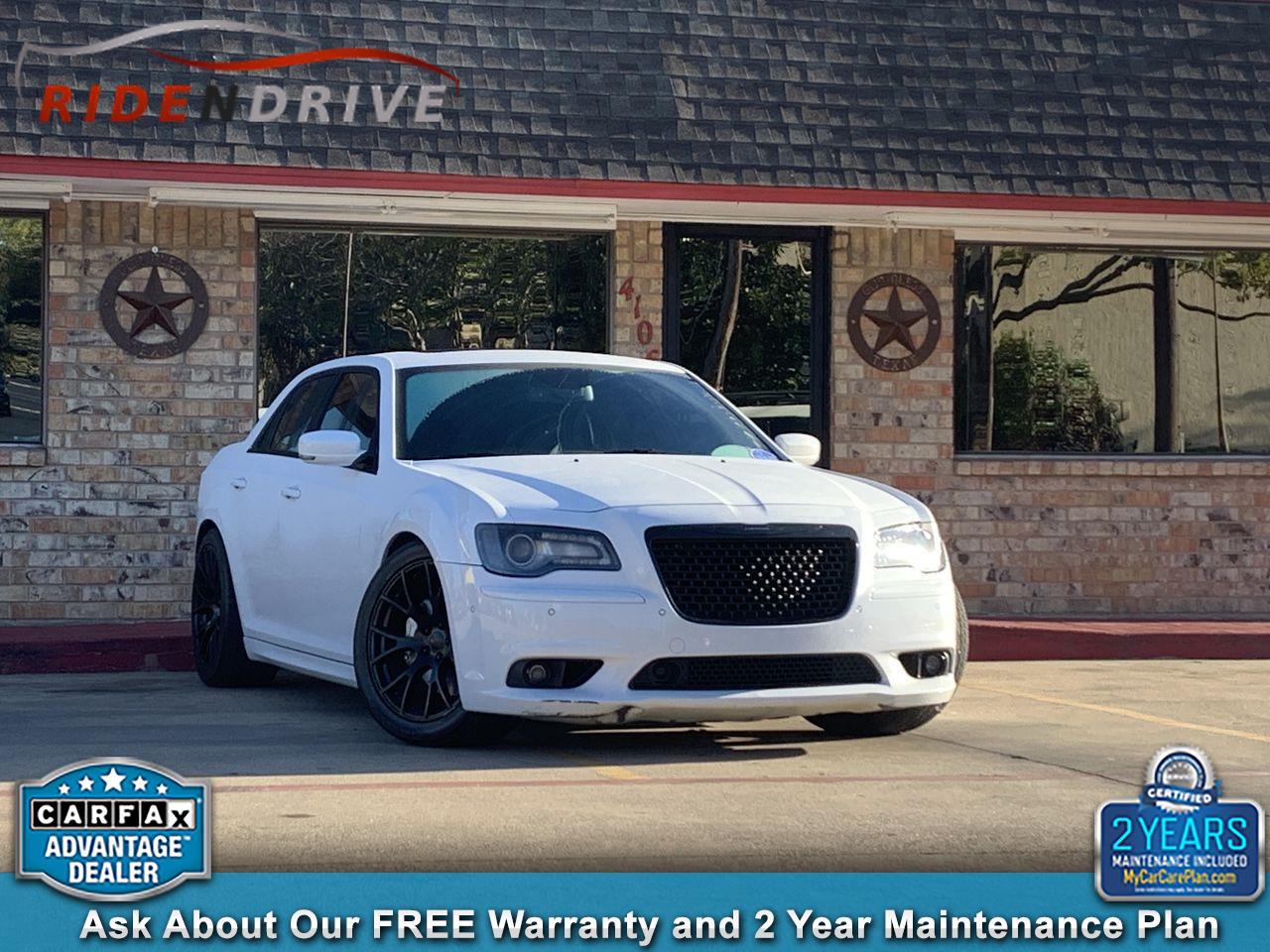 2012 Chrysler 300 4dr Sdn V8 SRT8 RWD