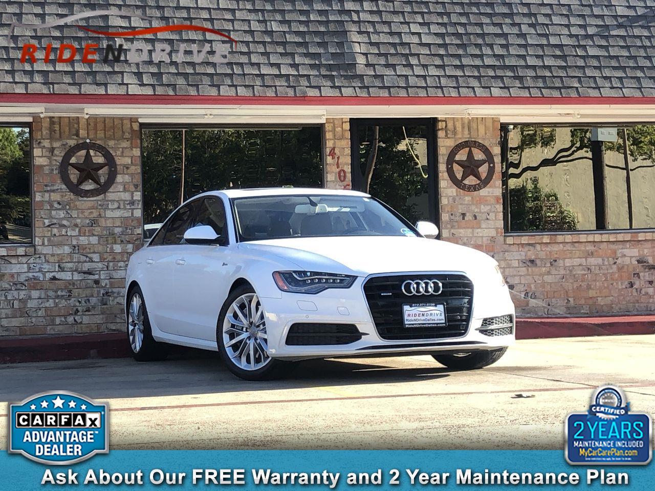 2012 Audi A6 4dr Sdn quattro 3.0T Prestige