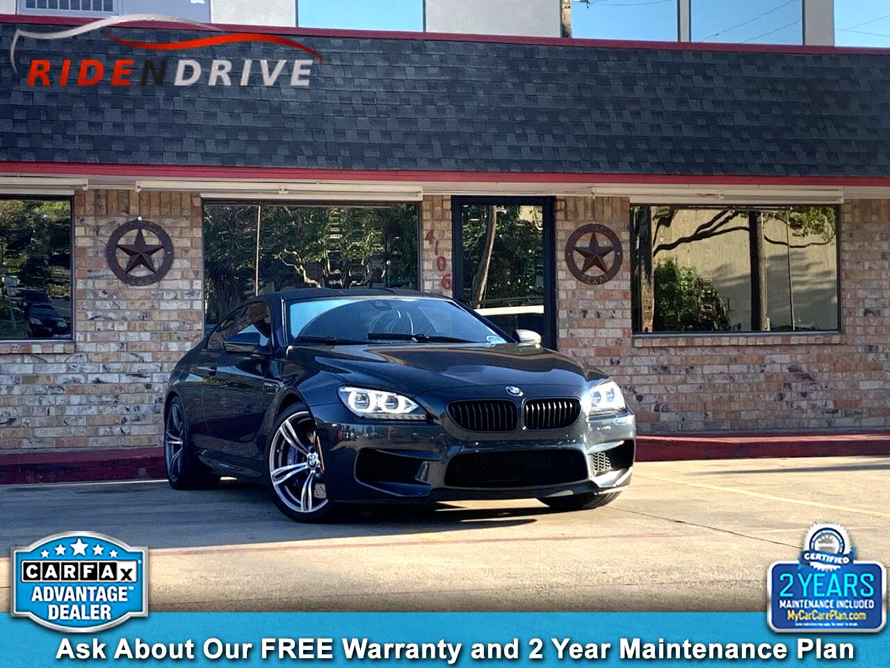 2013 BMW M6 2dr Cpe Competition Pkg