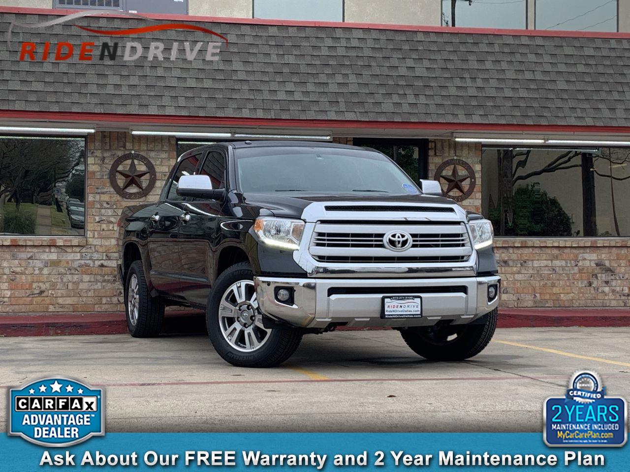 2015 Toyota Tundra 2WD Truck CrewMax 5.7L V8 6-Spd AT 1794 (Natl)