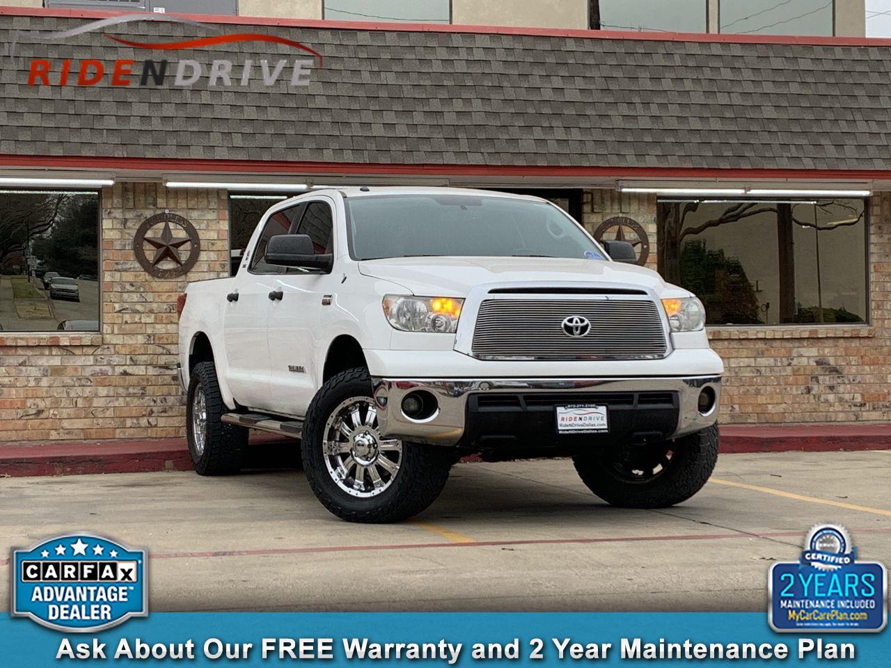2012 Toyota Tundra 4WD Truck CrewMax 5.7L FFV V8 6-Spd AT SR5 (Natl)