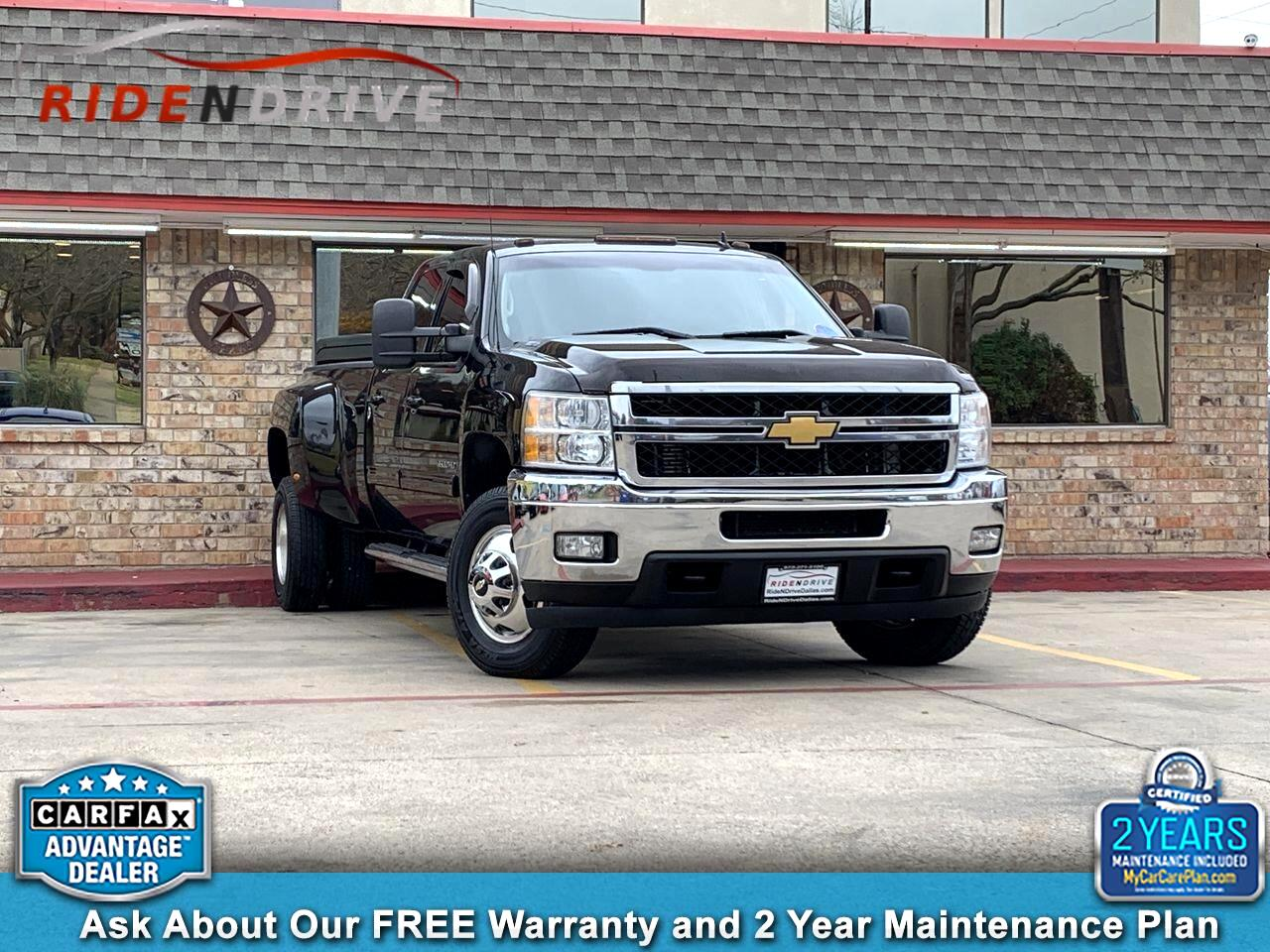 """2014 Chevrolet Silverado 3500HD 4WD Crew Cab 167.7"""" LTZ"""