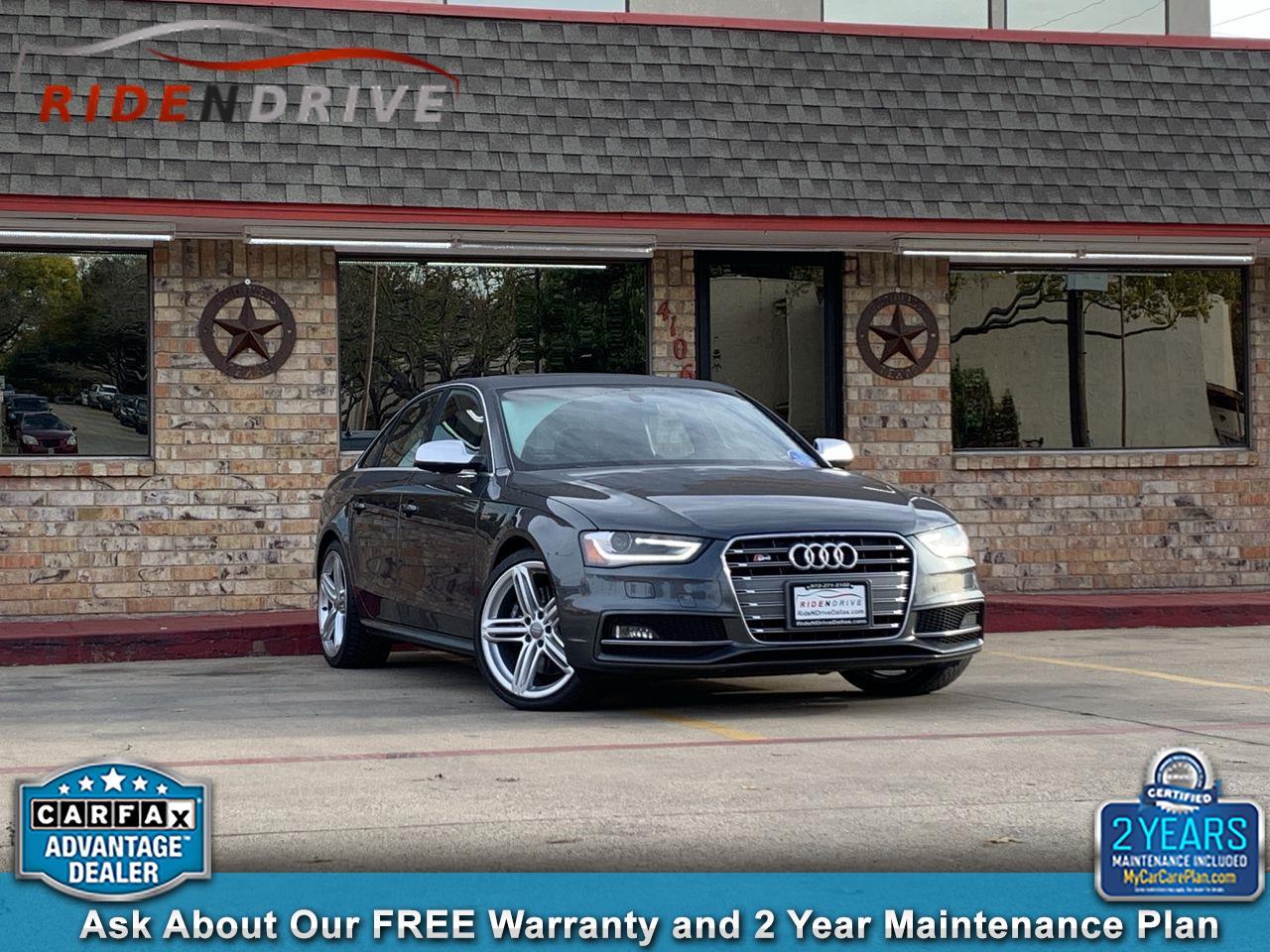 2015 Audi S4 4dr Sdn S Tronic Premium Plus