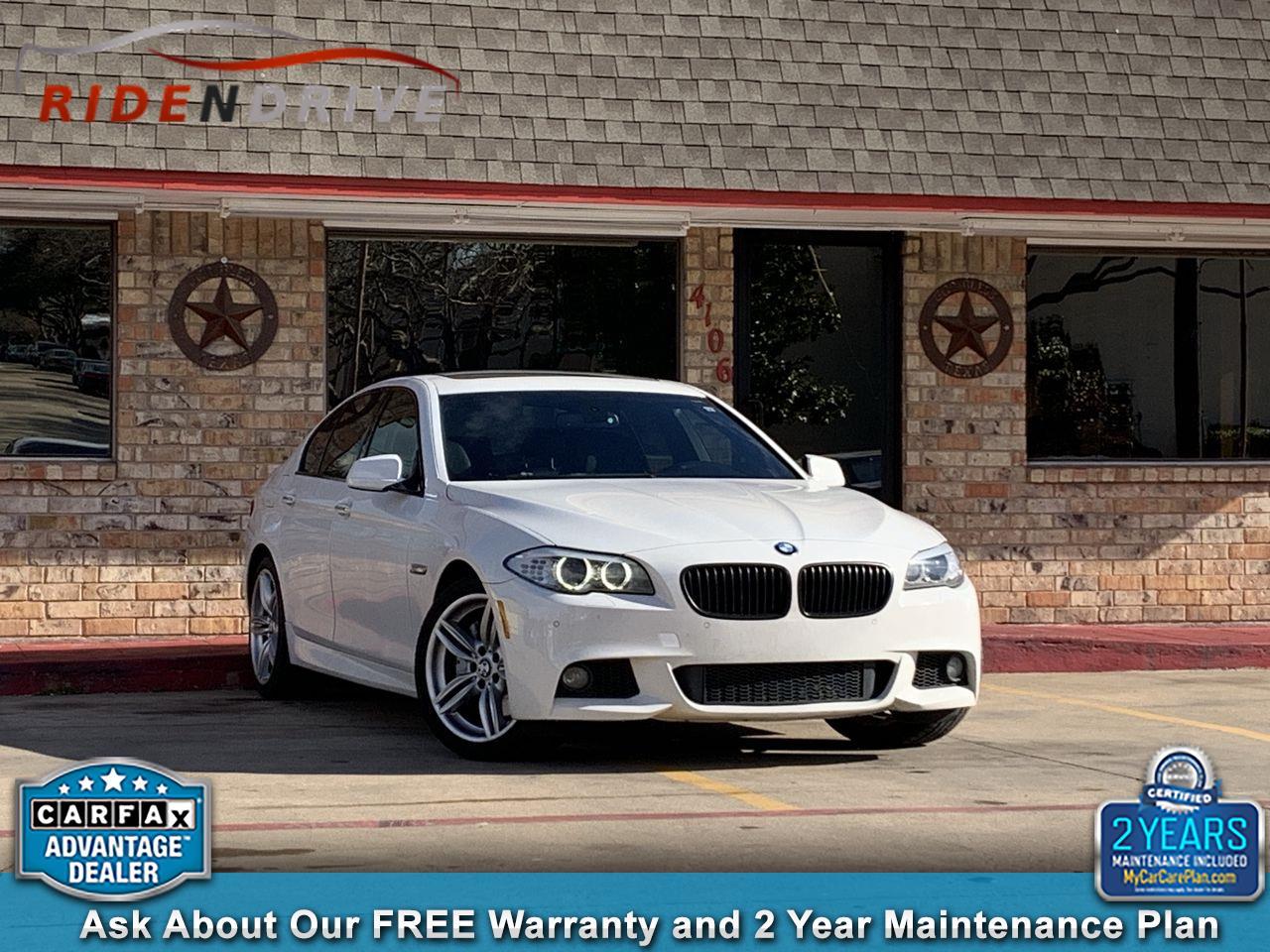 2012 BMW 5 Series 4dr Sdn 550i RWD