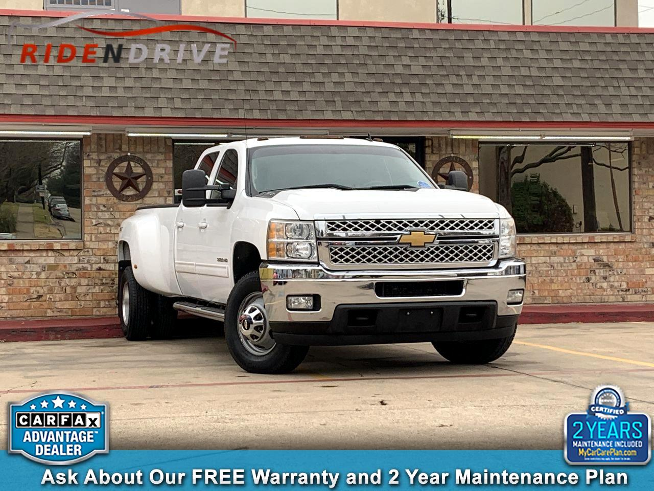 2013 Chevrolet Silverado 3500HD 4WD Crew Cab 167.7