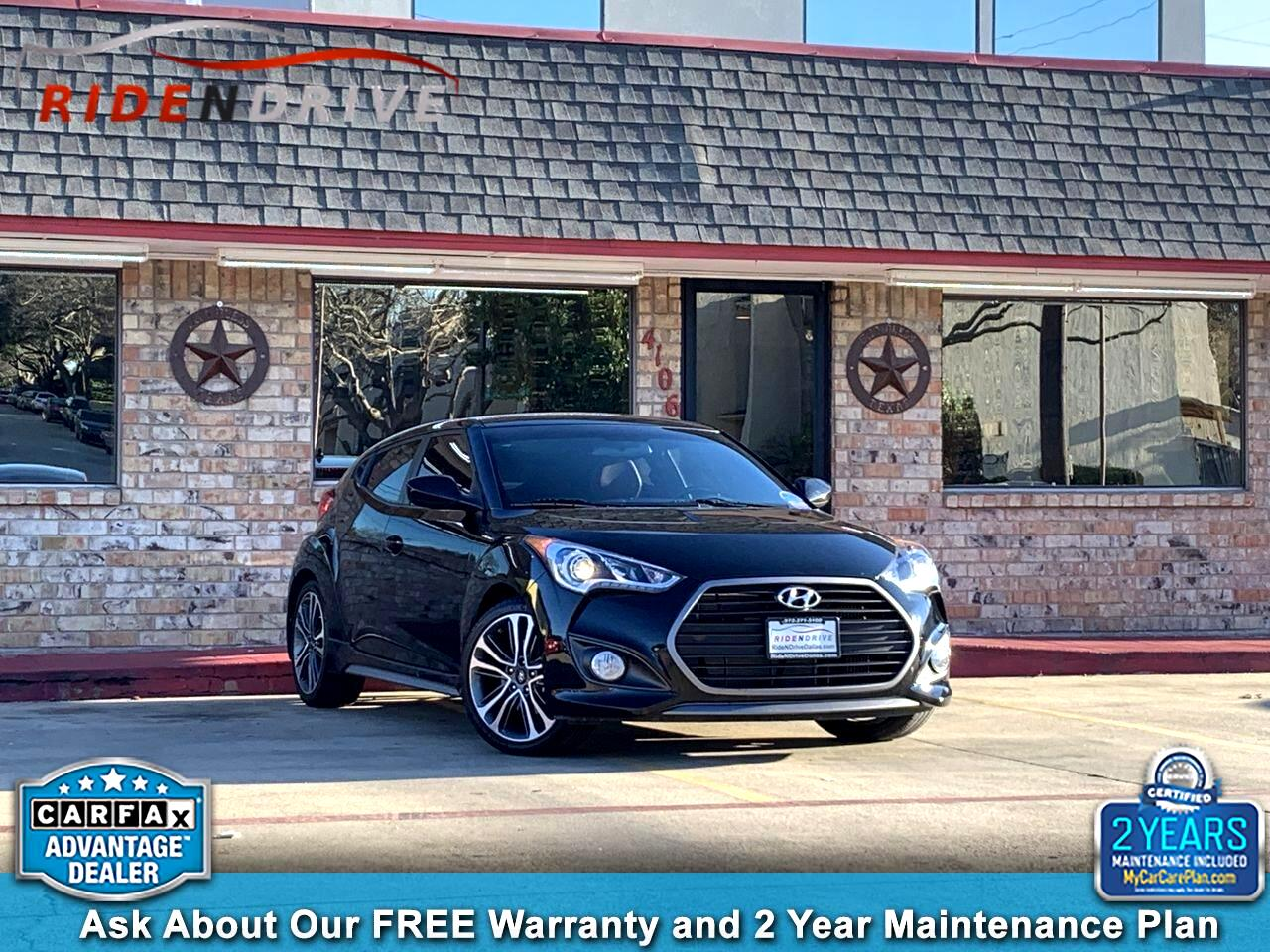 2016 Hyundai Veloster 3dr Cpe Man Turbo R-Spec