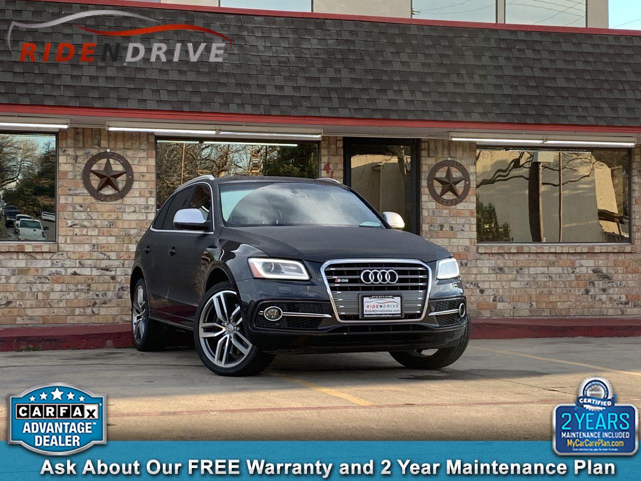 2014 Audi SQ5 quattro 4dr 3.0T Premium Plus