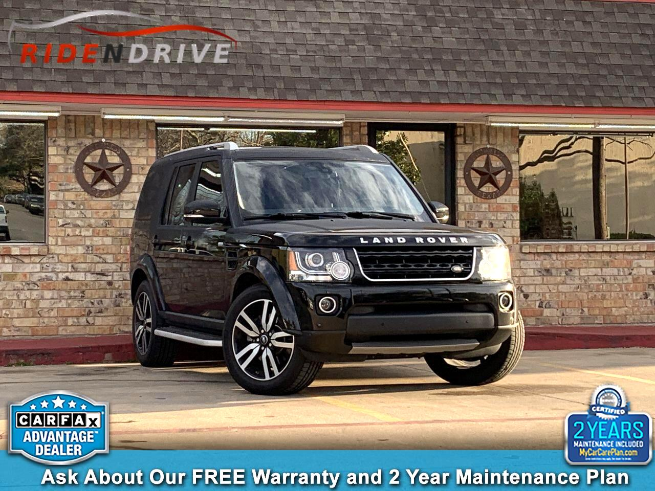 2016 Land Rover LR4 4WD 4dr HSE LUX Landmark Edition