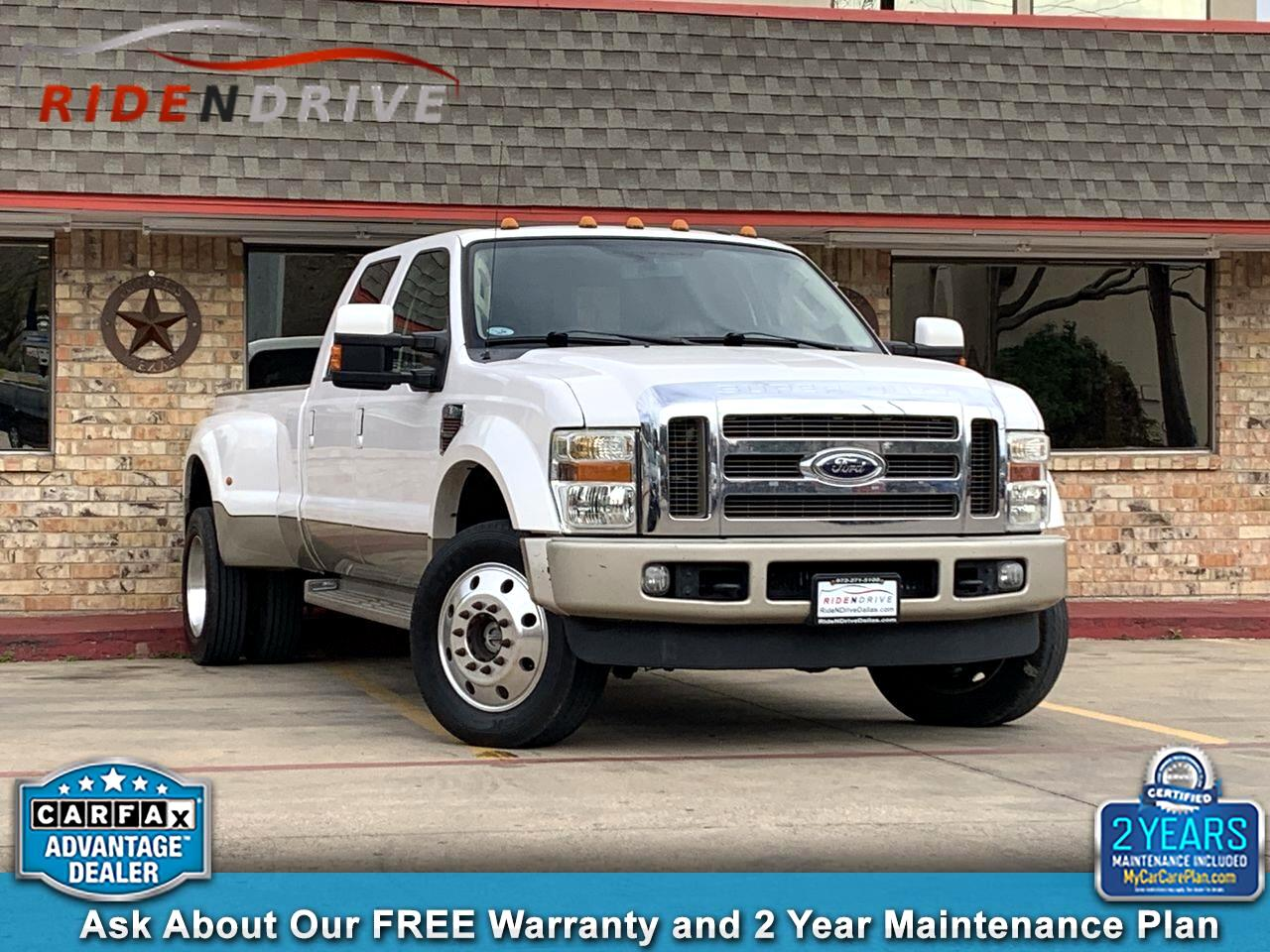 "2010 Ford Super Duty F-450 DRW 4WD Crew Cab 172"" King Ranch"