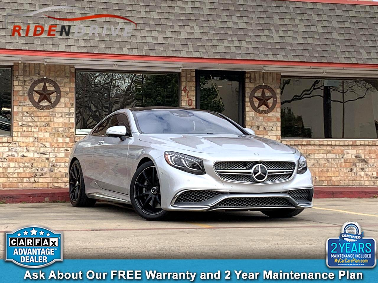 2015 Mercedes-Benz S-Class 2dr Cpe S 65 AMG RWD