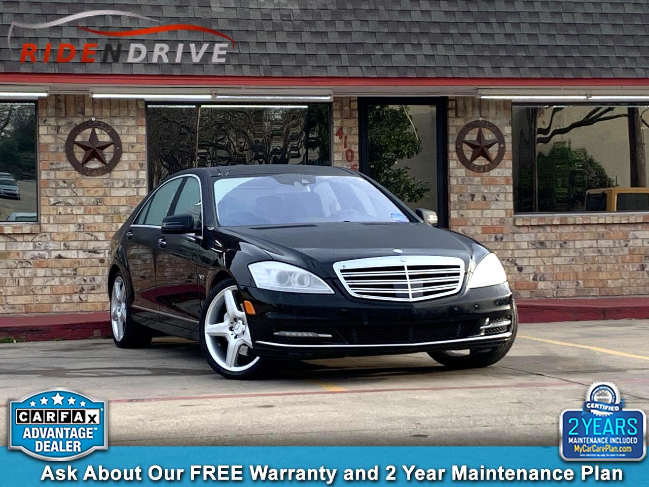 2012 Mercedes-Benz S-Class 4dr Sdn S 600 RWD