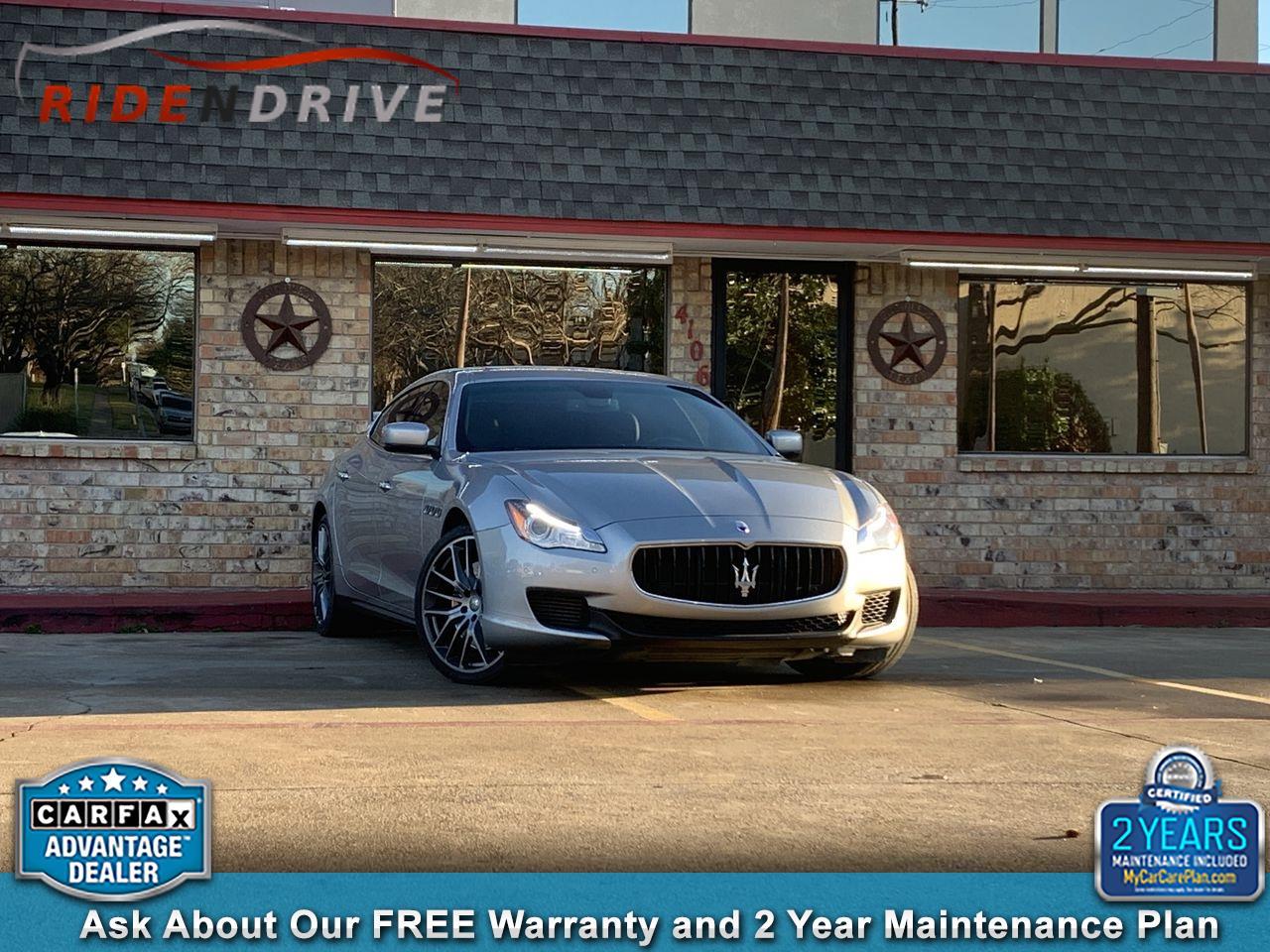 2014 Maserati Quattroporte 4dr Sdn Quattroporte GTS