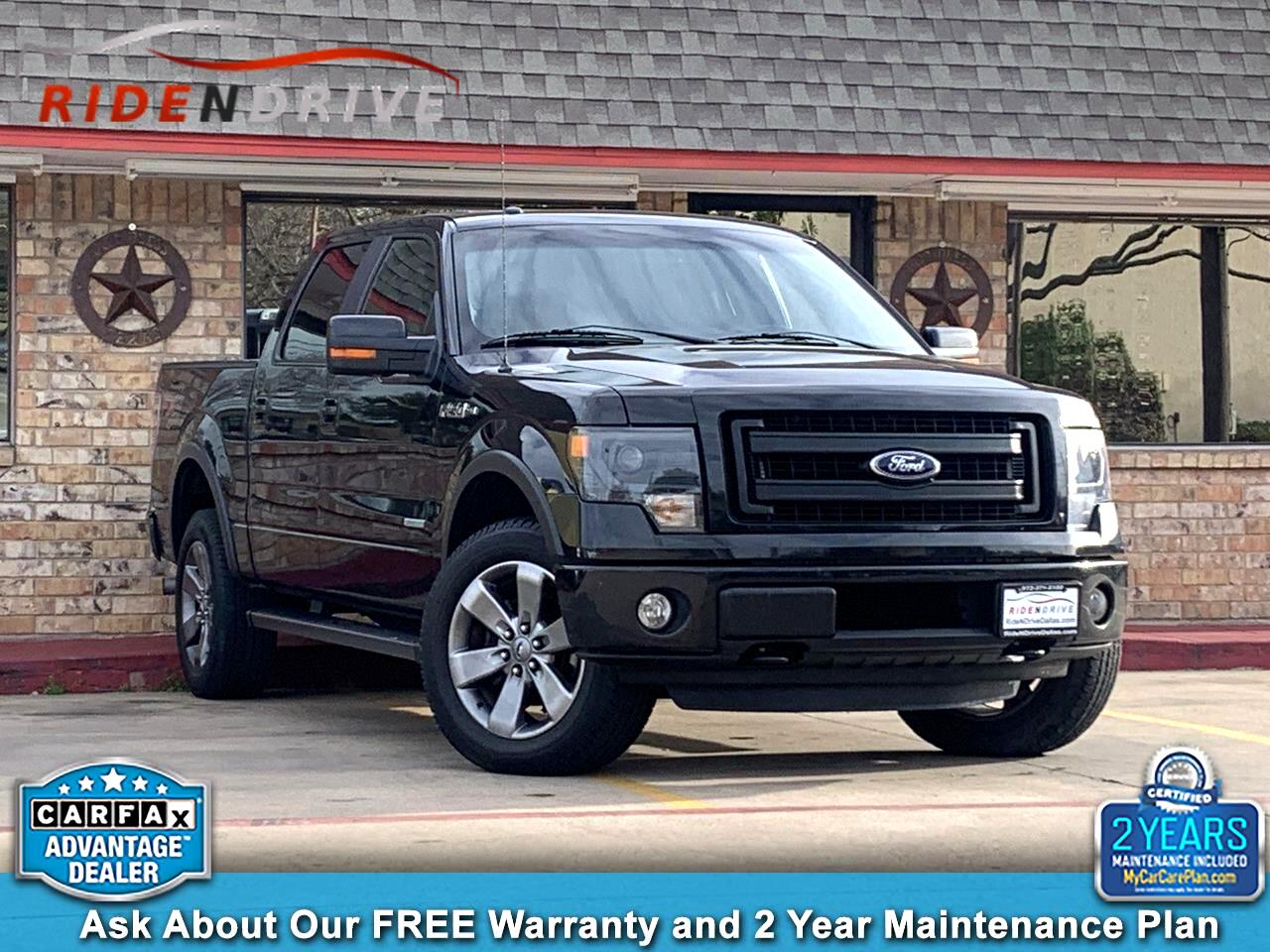 "2013 Ford F-150 4WD SuperCrew 145"" FX4"
