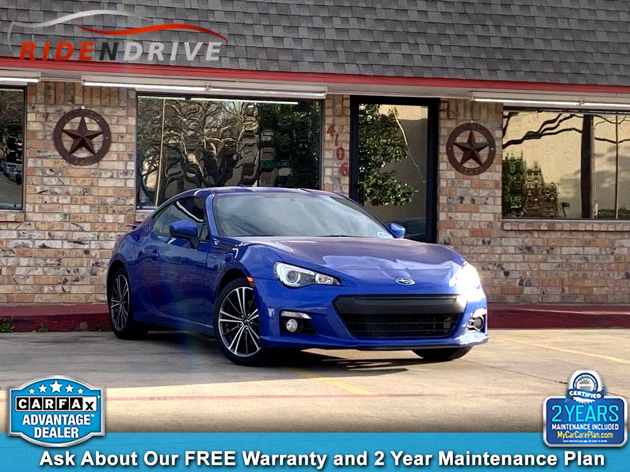 2016 Subaru BRZ 2dr Cpe Man Series.Blue