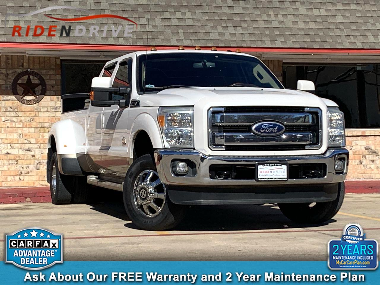 "2011 Ford Super Duty F-350 DRW 4WD Crew Cab 172"" King Ranch"