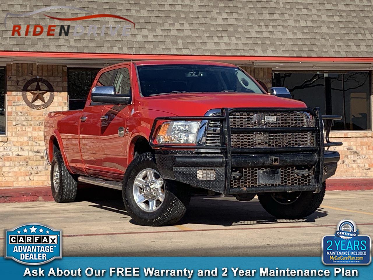 "2012 RAM 2500 4WD Crew Cab 169"" Laramie Longhorn"