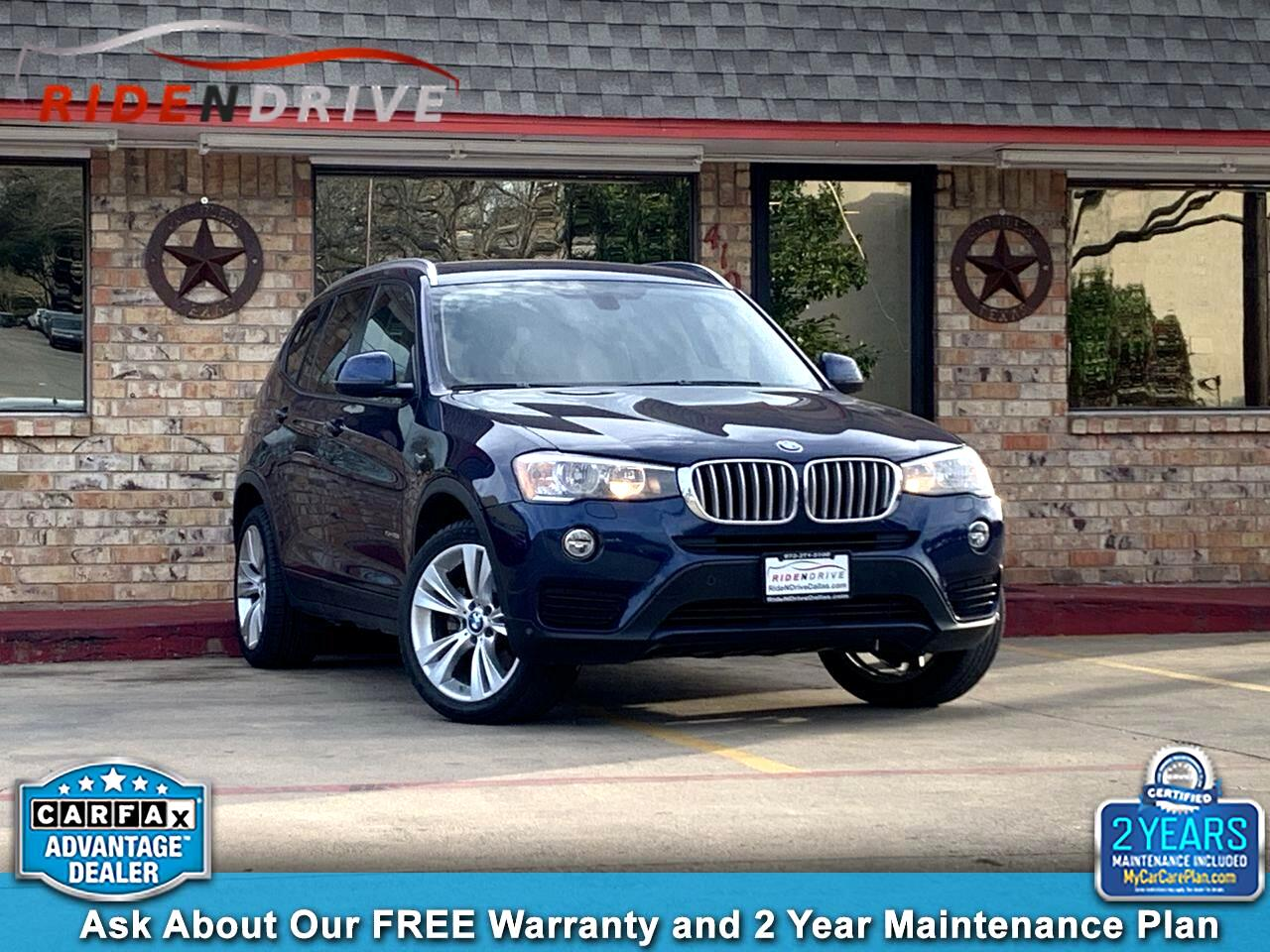 2016 BMW X3 xDrive28i Sports Activity Vehicle