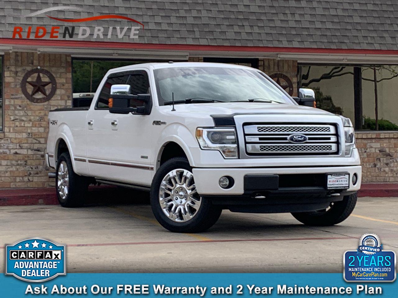 """2013 Ford F-150 4WD SuperCrew 157"""" Platinum"""