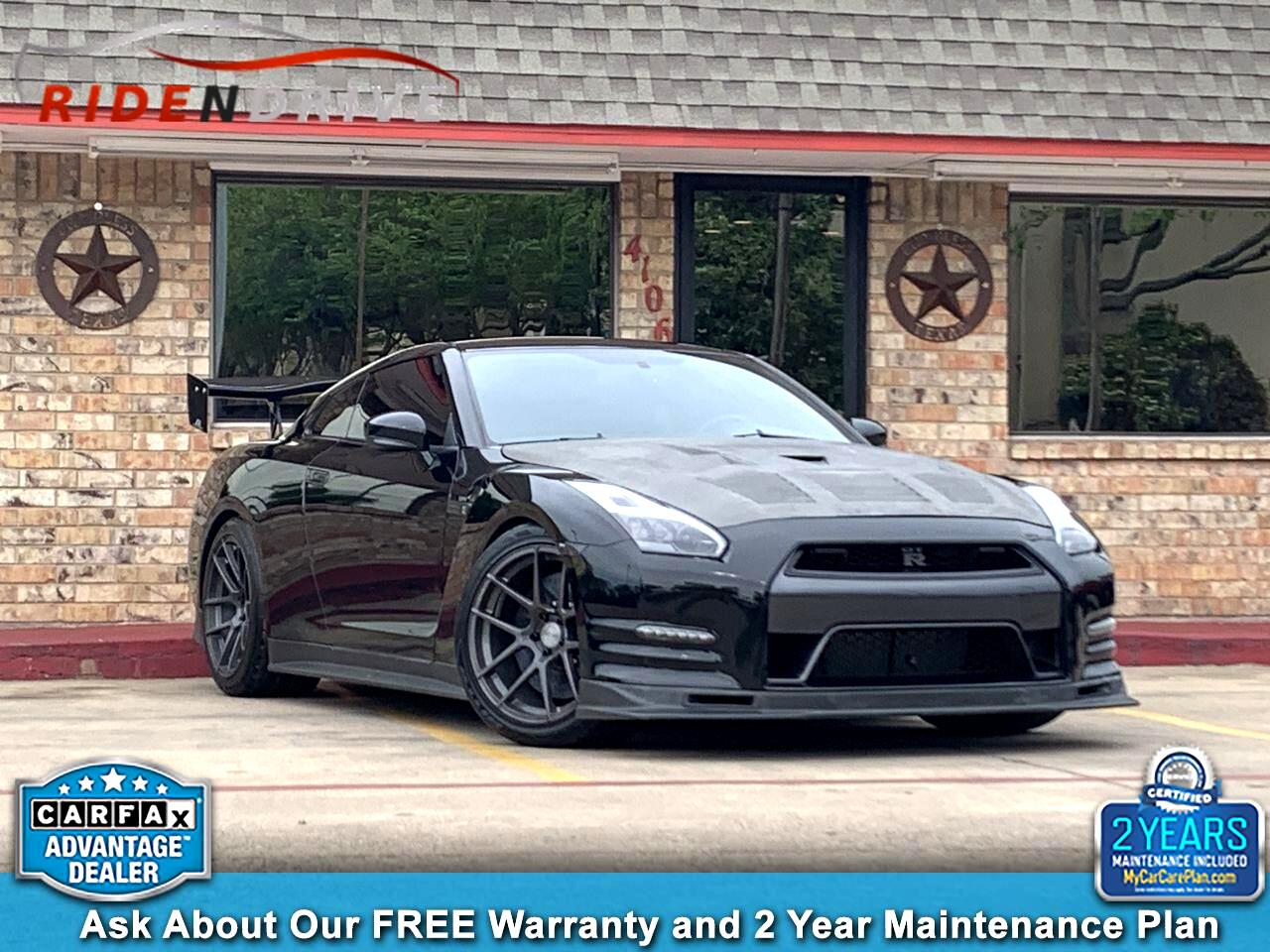 2012 Nissan GT-R 2dr Cpe Black Edition
