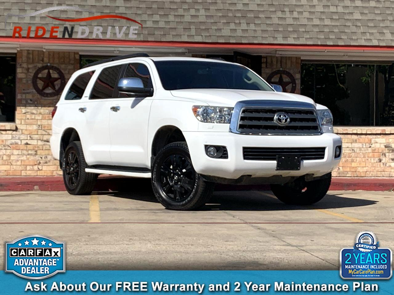 2016 Toyota Sequoia 4WD 5.7L FFV Limited (Natl)