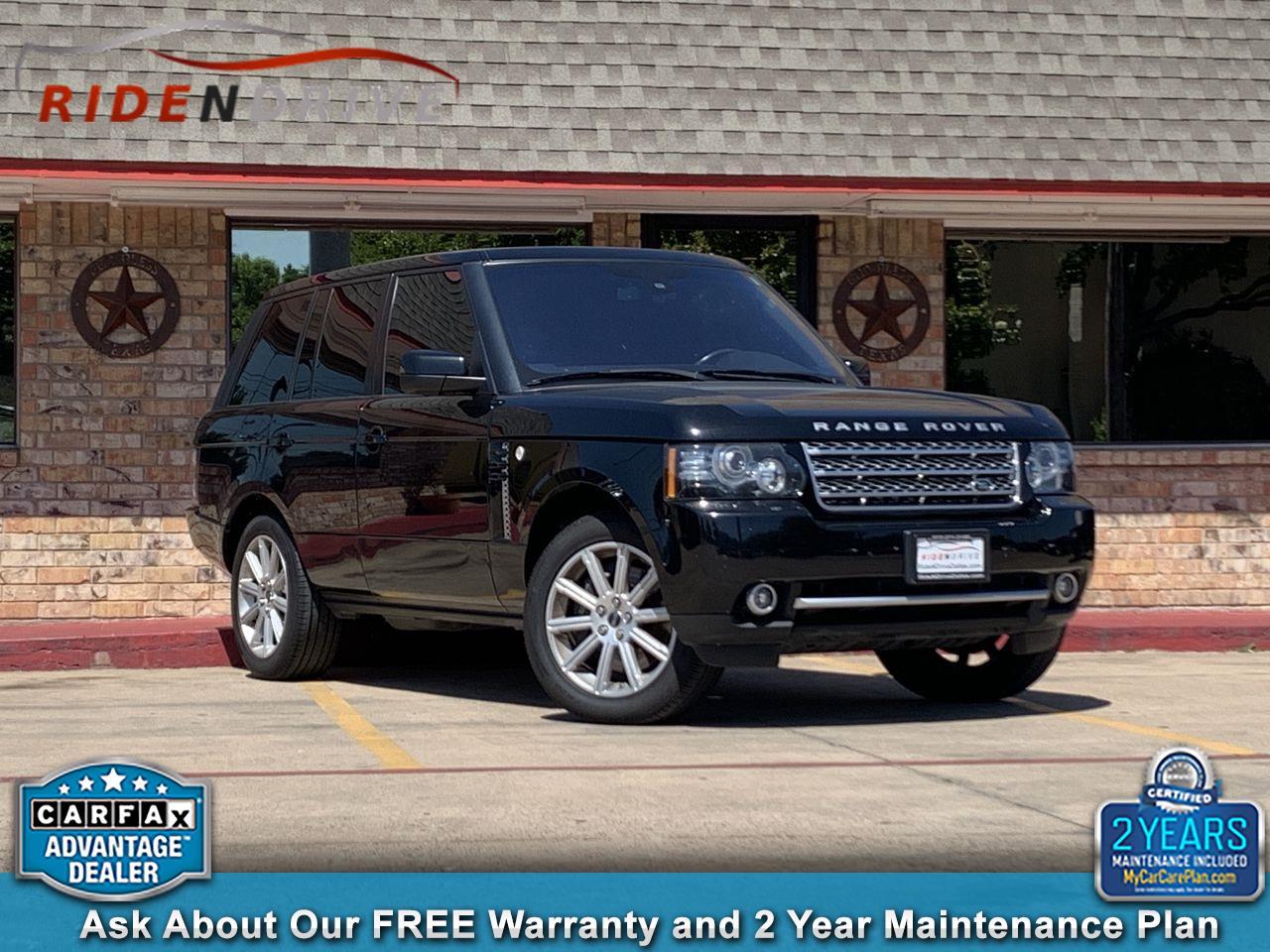 2012 Land Rover Range Rover 4WD 4dr SC