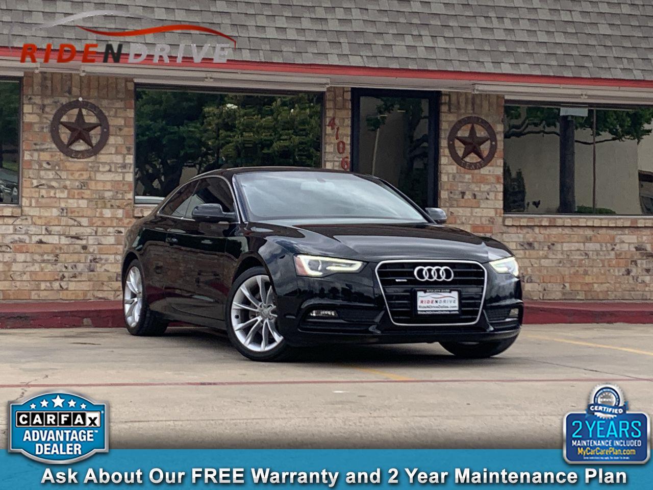 2014 Audi A5 2dr Cpe Auto quattro 2.0T Premium Plus