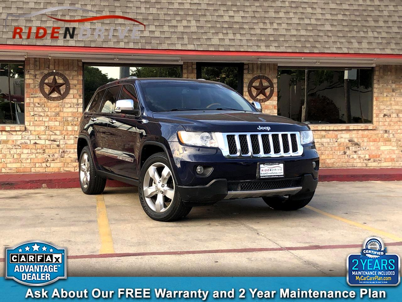 2012 Jeep Grand Cherokee RWD 4dr Overland