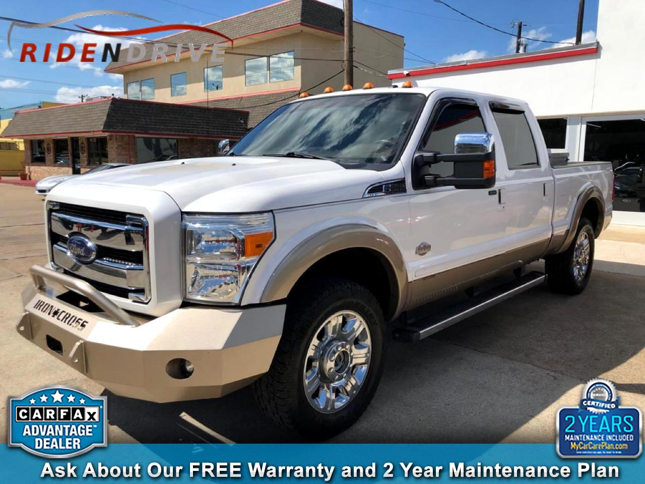 "2014 Ford Super Duty F-250 SRW 4WD Crew Cab 156"" King Ranch"