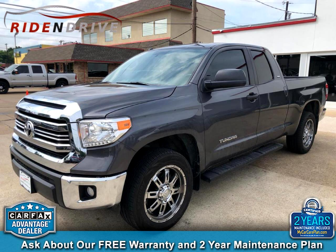 2017 Toyota Tundra 2WD SR5 Double Cab 6.5' Bed 4.6L (Natl)