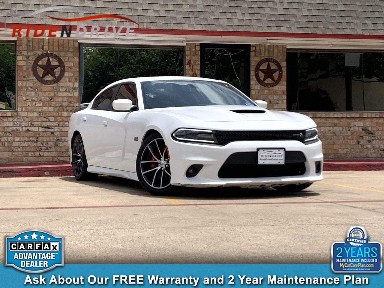 2016 Dodge Charger 4dr Sdn R/T Scat Pack RWD
