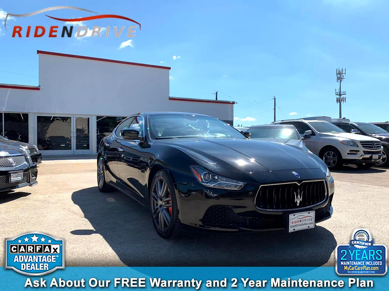 2016 Maserati Ghibli 4dr Sdn