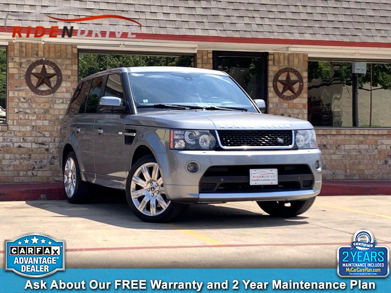 2013 Land Rover Range Rover Sport 4WD 4dr SC Limited Edition