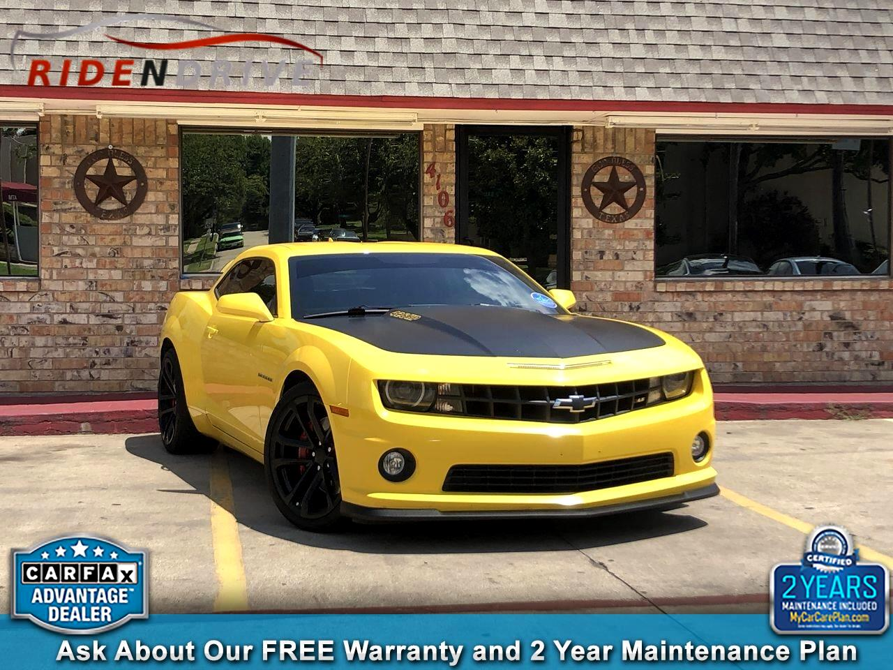 2013 Chevrolet Camaro 2dr Cpe SS w/2SS