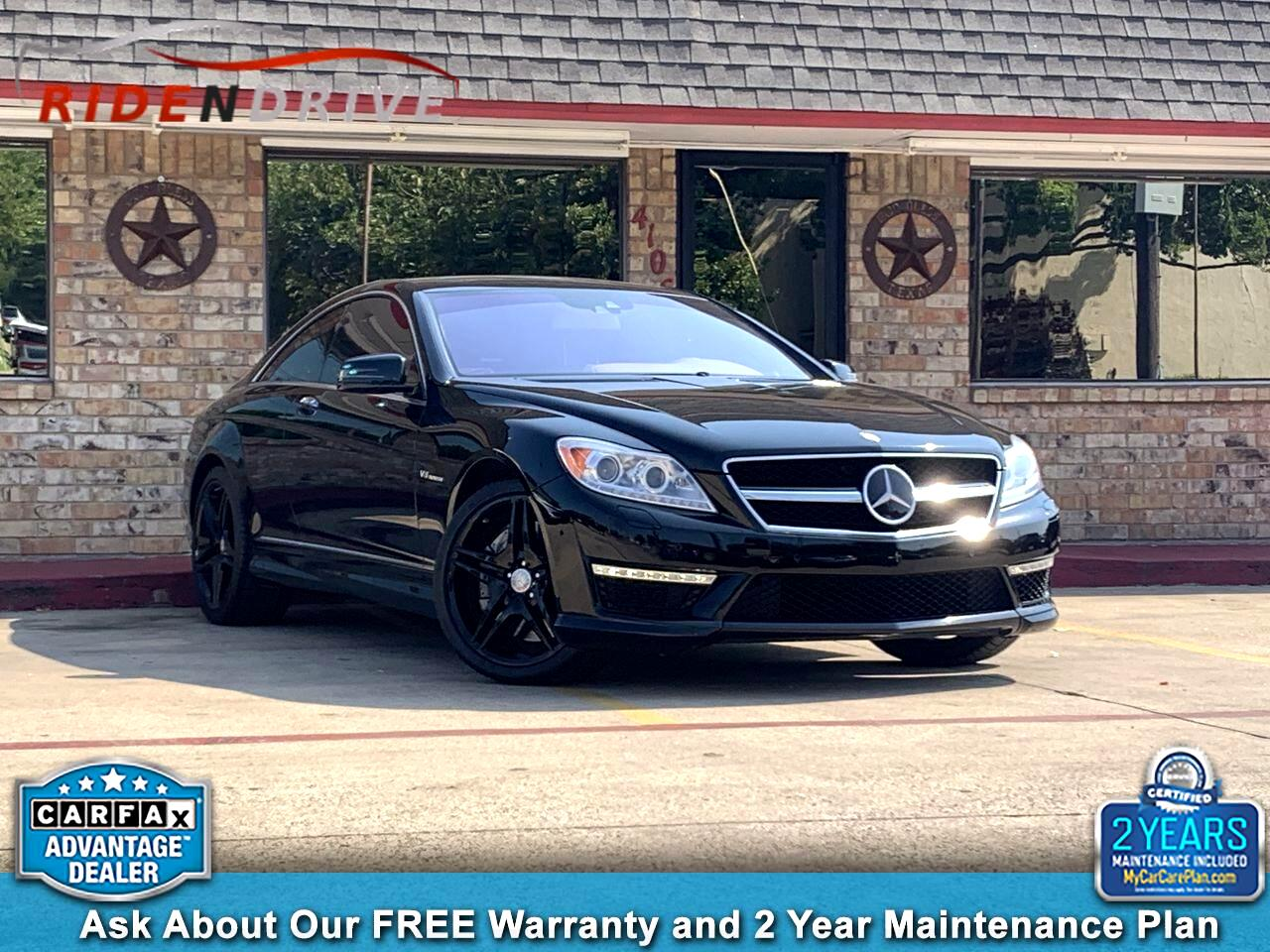 2014 Mercedes-Benz CL-Class 2dr Cpe CL 63 AMG RWD