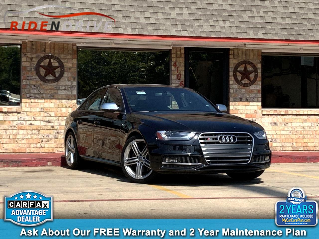 2014 Audi S4 4dr Sdn Man Premium Plus