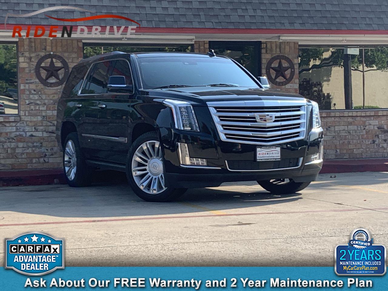 2016 Cadillac Escalade 4WD 4dr Platinum