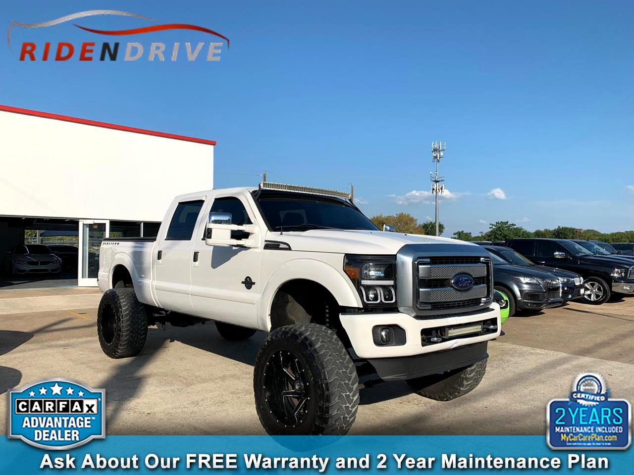 "2013 Ford Super Duty F-250 SRW 4WD Crew Cab 156"" Platinum"