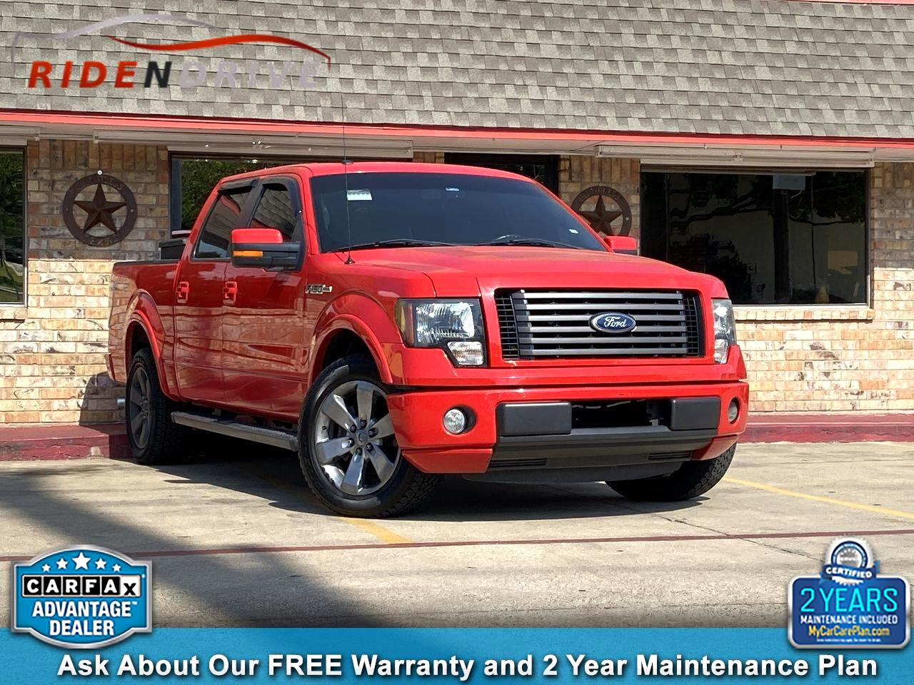 "2011 Ford F-150 2WD SuperCrew 145"" FX2"