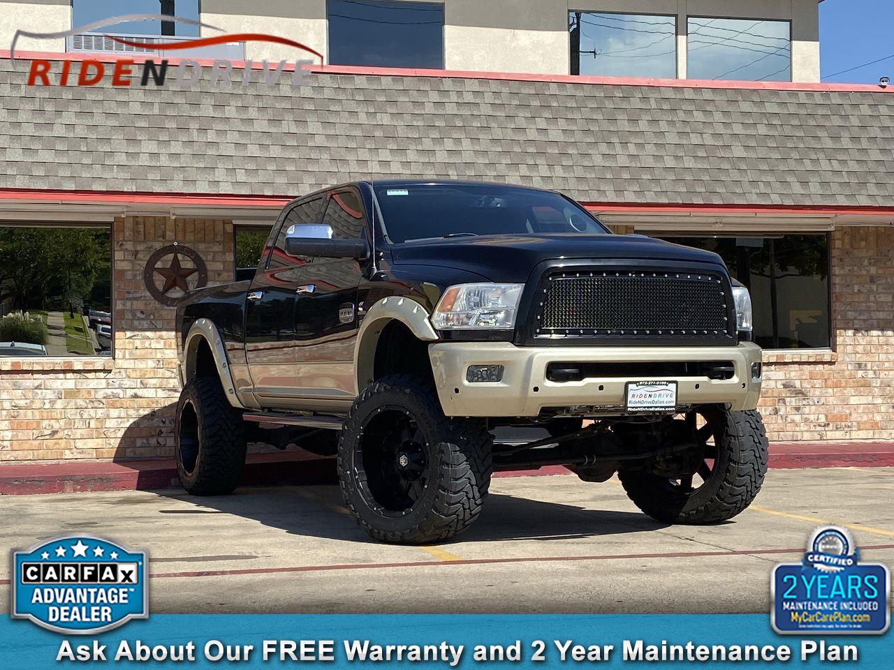 "2011 RAM 2500 4WD Crew Cab 149"" Laramie Longhorn Edition"