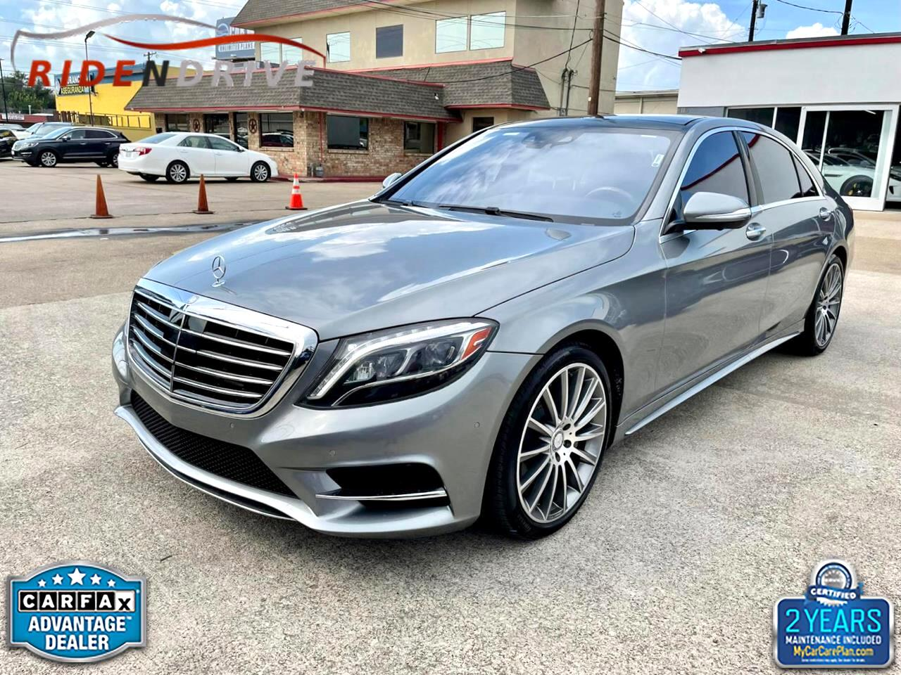 Mercedes-Benz S-Class 4dr Sdn S 550 RWD 2014
