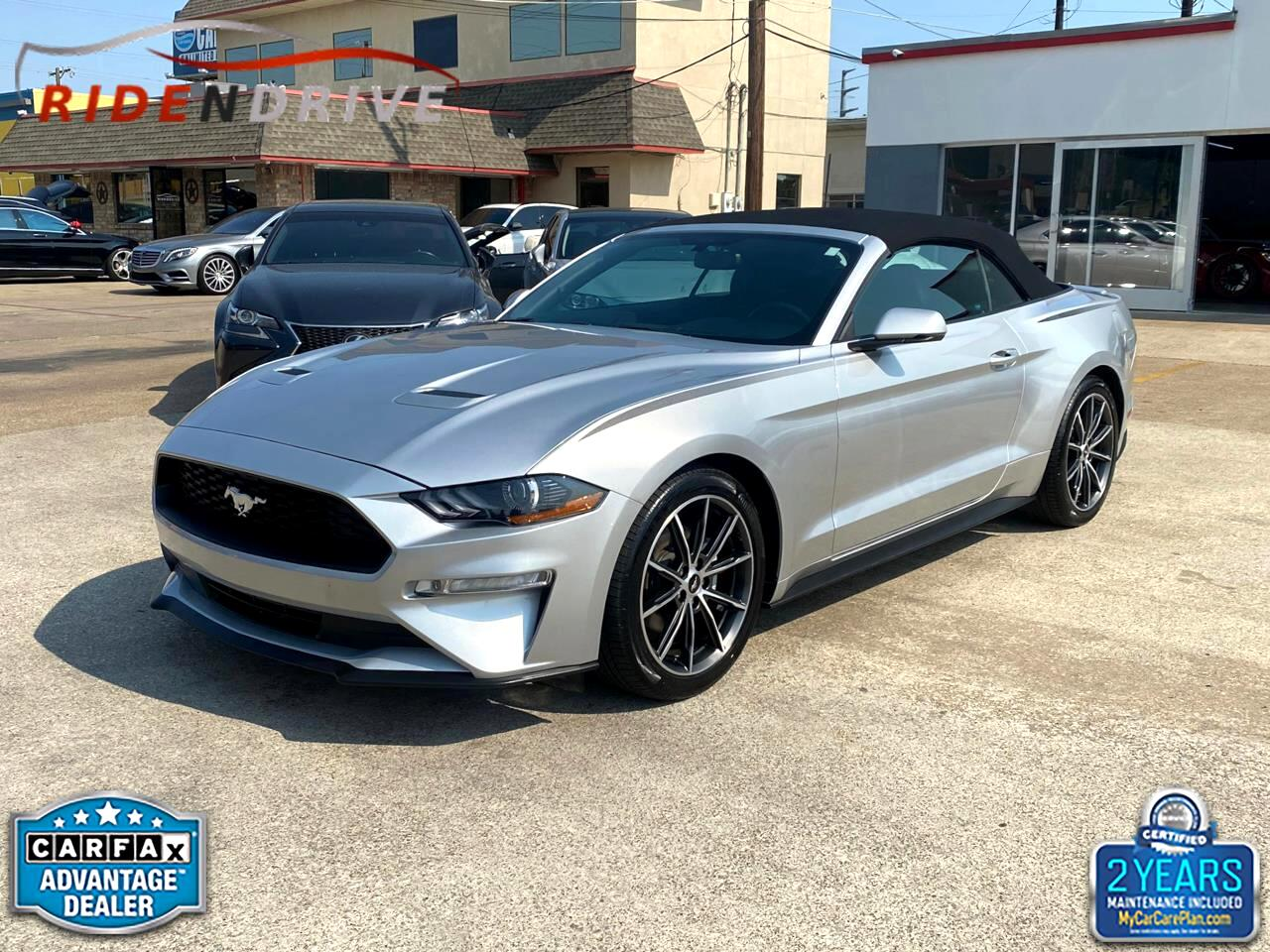 Ford Mustang EcoBoost Convertible 2018