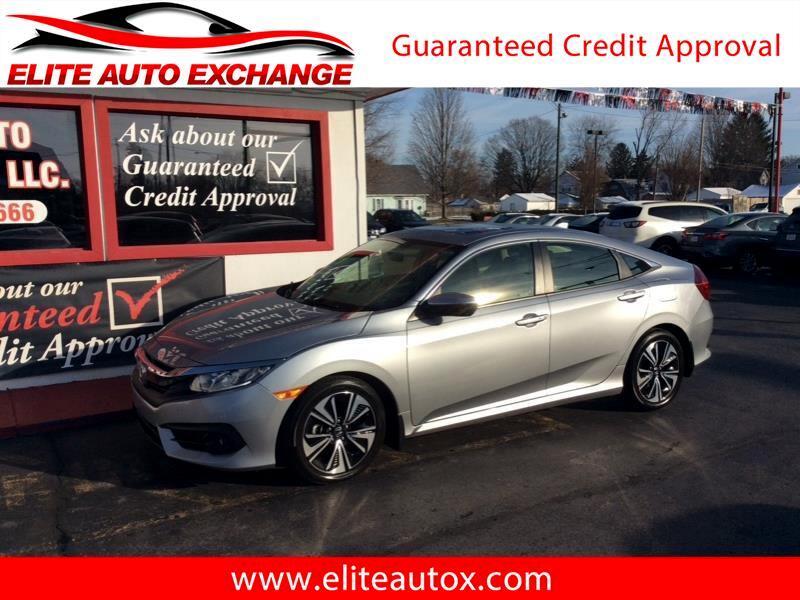 Honda Civic EX-T Sedan CVT 2018