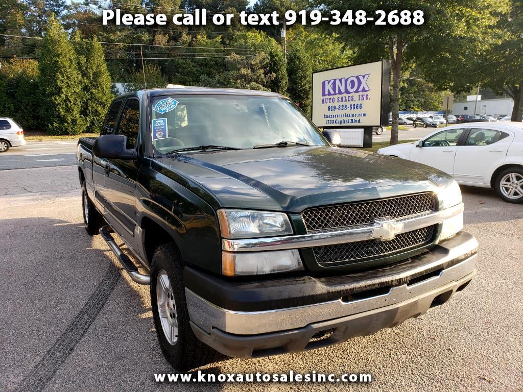 2004 Chevrolet Silverado 1500 LT EXT. CAB 4WD