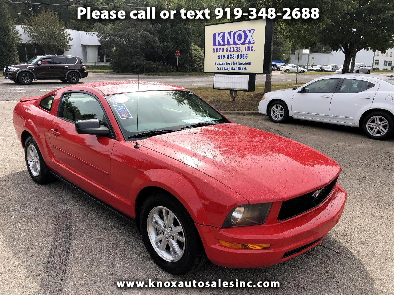 2008 Ford Mustang V6 Premium Coupe