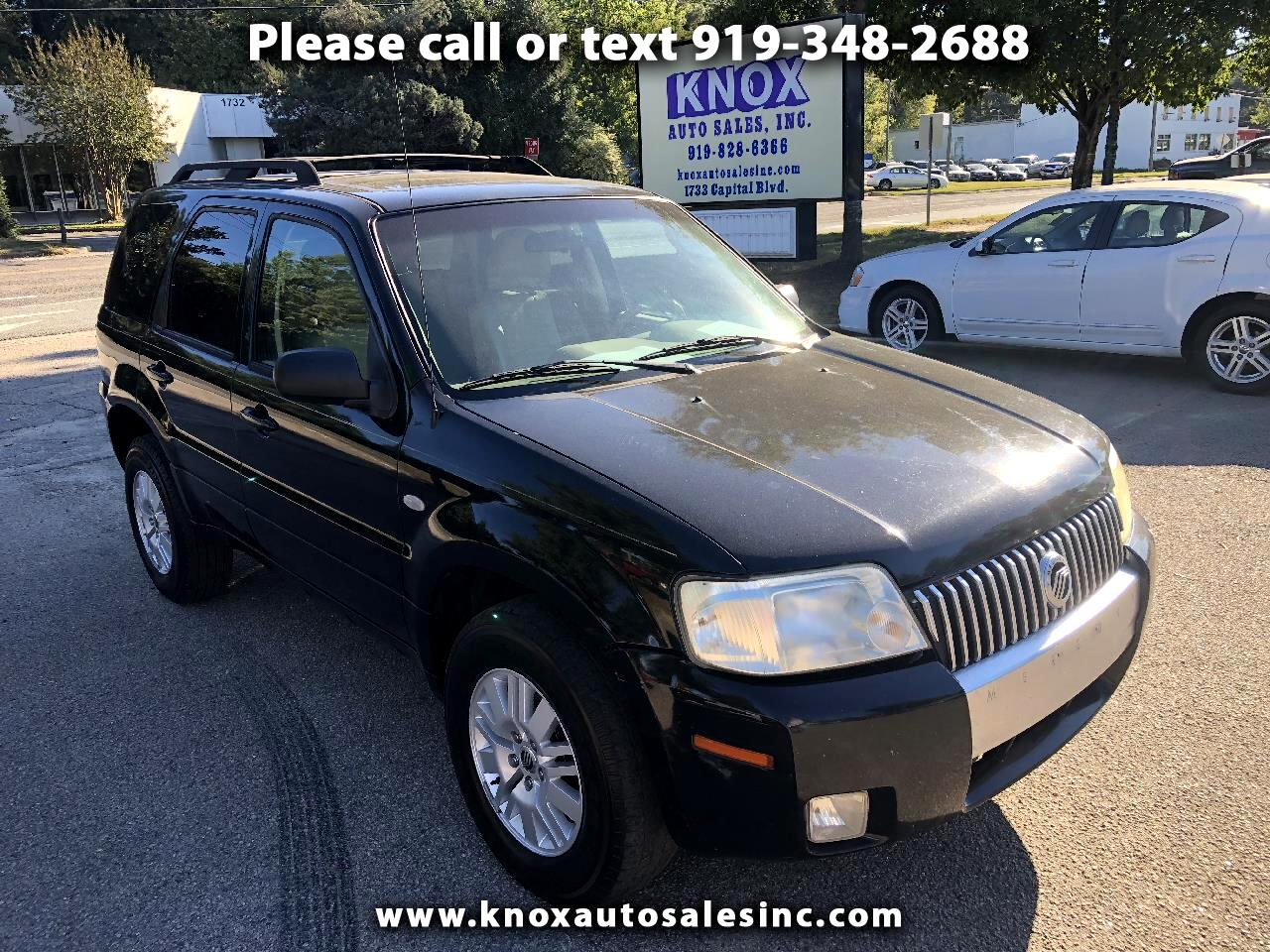 2007 Mercury Mariner Luxury 2WD