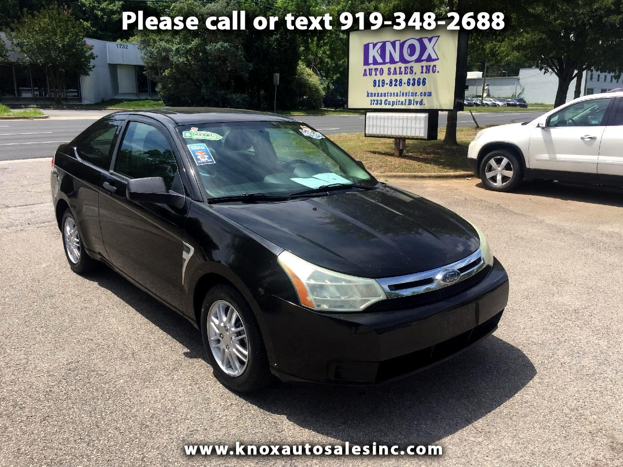 2008 Ford Focus SE Coupe