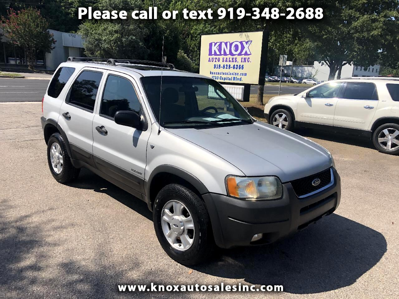 2002 Ford Escape XLT 4WD