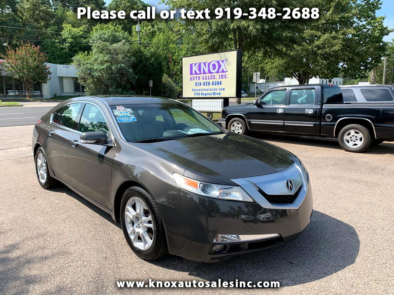 2010 Acura TL with Tech Package